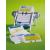 Névjegykártyatartó Durable Visifix Flip forgatható 400 db-os ezüst