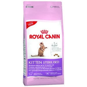 Royal Canin Kitten Sterilised macskaeledel 4kg