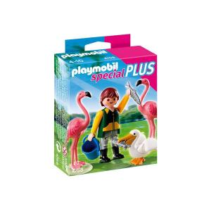 Playmobil Állatgondozó flamingóval és pelikánnal - 4758
