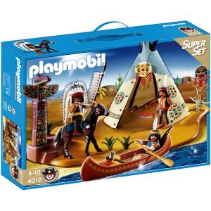 Playmobil Indián rezervátum szuper szett - 4012