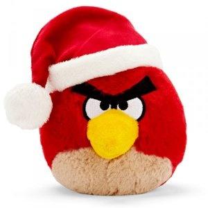 Rovio Angry Birds plüss, karácsonyi kiadás, 13 cm