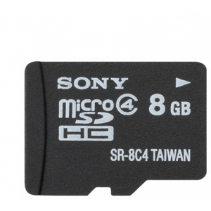 Sony 8GB microSDHC Class4 (SR8A4)