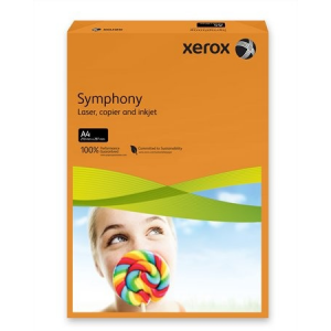 Xerox Symphony színes másolópapír, A4, 80 g, narancs (intenzív) 500 lap/csomag