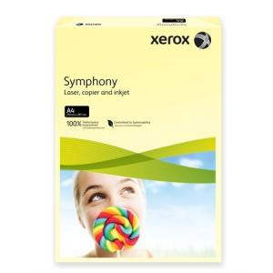 Xerox Symphony színes másolópapír, A4, 160 g, világossárga (pasztell) 500 lap/csomag