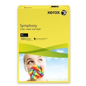 Xerox Symphony színes másolópapír, A4, 160 g, sötétsárga (intenzív) 500 lap/csomag