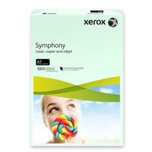 Xerox Symphony színes másolópapír, A3, 80 g, világoszöld (pasztell) 500 lap/csomag