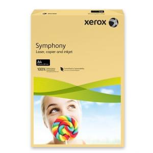 Xerox Symphony színes másolópapír, A4, 80 g, vajszín (közép) 500 lap/csomag