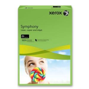 Xerox Symphony színes másolópapír, A4, 160 g, sötétzöld (intenzív) 500 lap/csomag