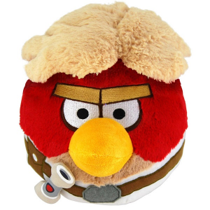 Angry Birds Star Wars: Luke Skywalker 20 cm-es plüssfigura