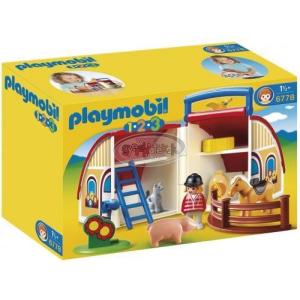 Playmobil Aprók hordozható kis farmja - 6778