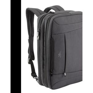 "RivaCase 8290 Convertible Laptop bag/backpack 16"" Charcoal black"