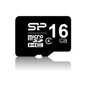 Silicon Power MICRO SDHC CARD 16GB  CLASS 4 Adapter nélküli