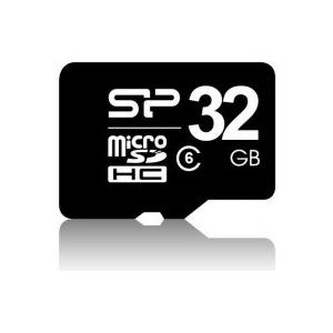 Silicon Power MICRO SDHC CARD 32GB  CLASS 6 Adapter nélküli