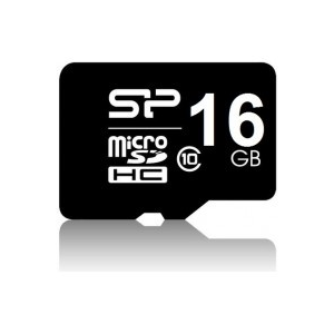 Silicon Power MICRO SDHC CARD 16GB CLASS 10 Adapter nélküli