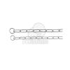 Trixie fojtó hosszúszemű nyakörv 46cm/3mm (TRX2148)