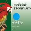 ezprint Platinum Utángyártott T071240/T08924010 cyan kék
