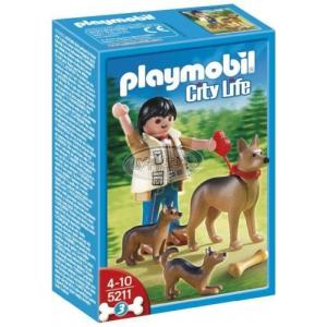 Playmobil Kutyasétáltatás-Német juhászkutyák - 5211
