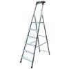 "KRAUSE Állólétra, 7 lépcsőfokos, alumínium, KRAUSE ""Safety"""