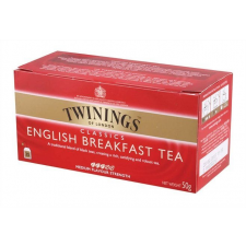"TWININGS Fekete tea, 25x2 g, TWININGS ""English Breakfast"" tea"
