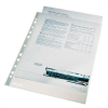 "ESSELTE Genotherm, lefűzhető, A4, 105 mikron, víztiszta felület, ESSELTE ""Luxus"""