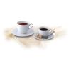 """ROTBERG Kávéskészlet, porcelán, 22 cl, ROTBERG """"Basic"""", fehér"""