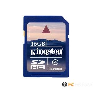 Kingston 16GB SD (SDHC Class 4) (SD4/16GB) memória kártya