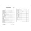 """VICTORIA Nyomtatvány, pénztárjelentés, 25x2, A5, VICTORIA """"B.Kisker-104"""""""