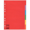 """ESSELTE Regiszter, karton, A4, 5 részes, ESSELTE """"Economy"""", színes"""