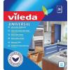 "Vileda Törlőkendő, 34x36 cm, 3 db, VILEDA ""Universal"", fehér-piros"