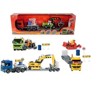 Simba Toys Mercedes kamion munkagéppel 49cm több változatban - Simba Toys
