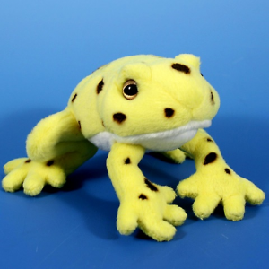Semo Toys Plüss citromsárga mágneses béka 13cm