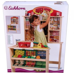 Simba Toys Kaufland Super Shop Üzlet fából - Eichhorn