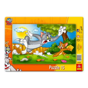 Trefl Tom és Jerry 15 db-os puzzle