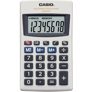 Casio Zsebszámoló -HS-8V- 8digit CASIO