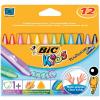 Bic Zsírkréta -829773- Kids Plastidecor Triangle BIC <12db/blisz>