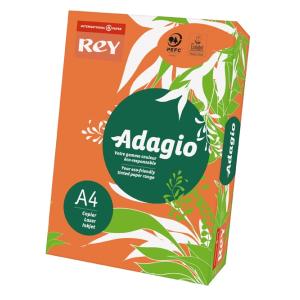 ReyAdagio Másolópapír A4/80gr 336123 színes élénk NARANCSSÁRGA/ORANGE Rey