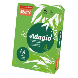 ReyAdagio Másolópapír A4/80gr 336153 színes élénk MÉLYZÖLD/DEEP GREEN Rey
