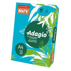 ReyAdagio Másolópapír A4/80gr 336143 színes élénk MÉLYKÉK/DEEP BLUE Rey Ad