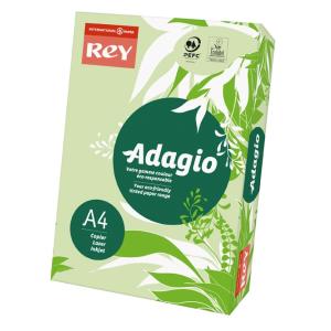 ReyAdagio Másolópapír A4/80gr 336044 színes paszt. V.ZÖLD/BRIGHTGREEN Rey
