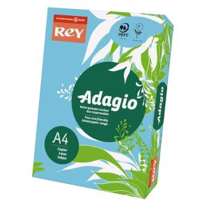 ReyAdagio Másolópapír A4/80gr 336086 színes pasztell VKÉK/BRIGHT BLUE Rey