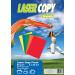 Lasercopy Másolópapír csomag A/4 80g ÉLÉNK színes 5x20ív LASER COPY