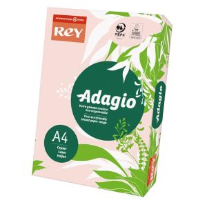 ReyAdagio Másolópapír A4/80gr 336023 színes pasztell RÓZSASZÍN/PINK Rey Ad