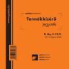 PÁTRIA Termékkísérő jegyzék Pátria 25x4 lapos tömb D.MG.3-12/V