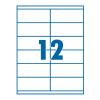 SilverBall Etikett 105x48mm 12címke/lap SilverBall <100lap/dob>