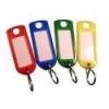 No-name Kulcsjelölő műanyag ovális/írható KÉK
