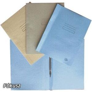Halas Gyorsfűző Fókusz A/4 230g kék 3099994091