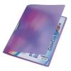 Leitz Gyorsfűző -41760065- Color Clip LILA  RAINBOW  LEITZ