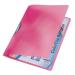 Leitz Gyorsfűző -41760025- Color Clip PIROS RAINBOW LEITZ