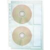 ESSELTE CD tartó tasak -67668- A4 lefűzhető 4CD/tasak ESSELTE