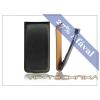 Haffner Slim Flip bőrtok - Samsung N7100 Galaxy Note II - fekete
